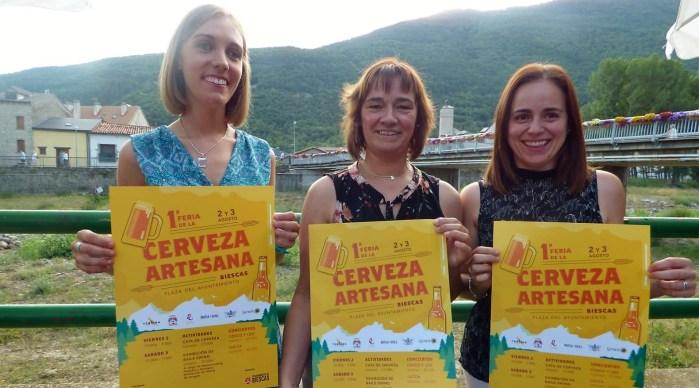 CERVEZA. Biescas organiza la primera Feria de la Cerveza Artesana.
