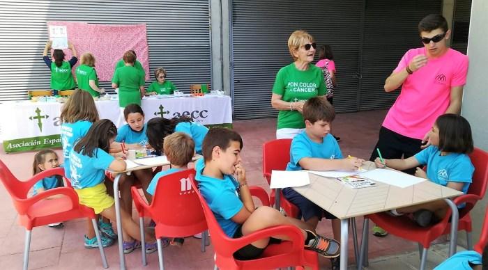 DIBUJOS. Jornada de sensibilización de la AECC de Jaca.