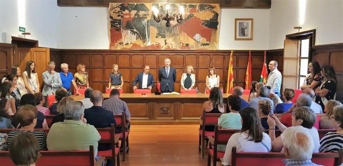 AYUNTAMIENTO DE BIESCAS. Inauguración oficial. (FOTO: Rebeca Ruiz)