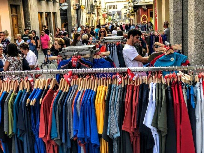 COMERCIO. Fiesta del Comercio en la Calle 2018. FOTO: Ana López Artillo.