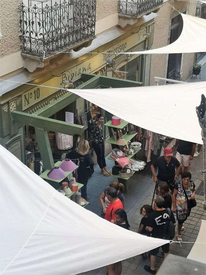 COMERCIO EN LA CALLE. Mucho público en las jornadas 2019. (FOTO: Javi del Pueyo)
