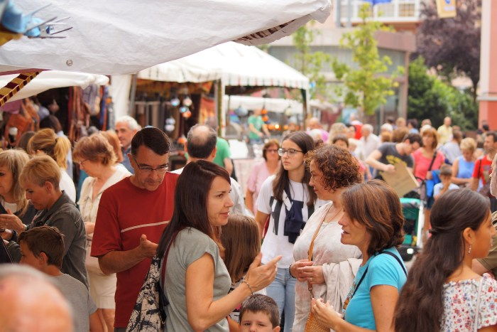ESPECTADORES. Concierto de Esther Ciudad en la Catedral de Jaca. (FOTO: Rebeca Ruiz)