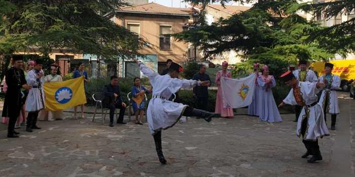 FESTIVAL. Actuación de Kalmukia. (FOTO: Javier Vaquerizo)