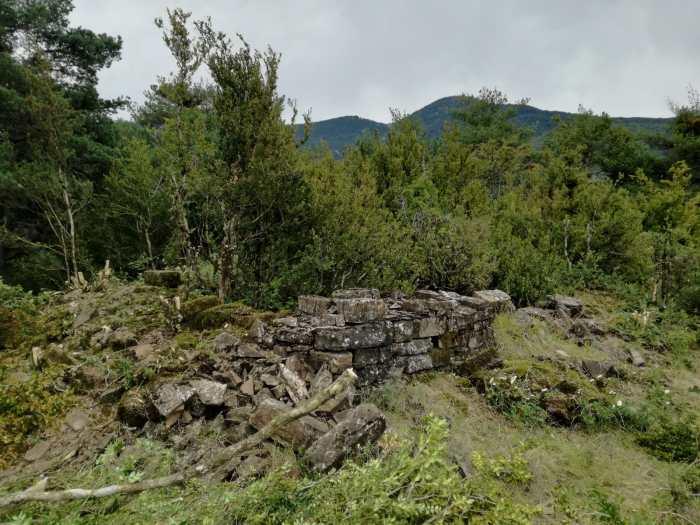 TORRE DE BESCÓS DE LA GARCIPOLLERA. Primeras excavaciones.