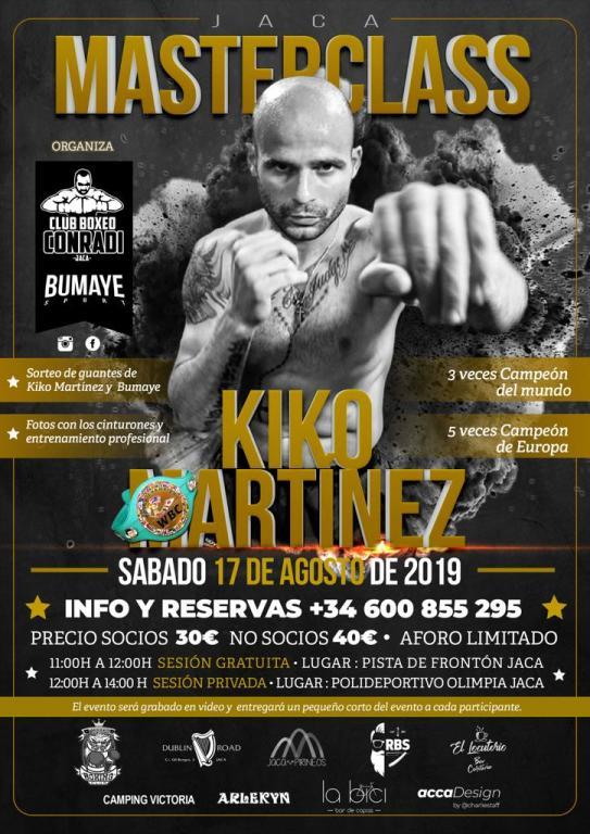 CLUB DE BOXEO CONRADI. Masterclass con Kiko Martínez.