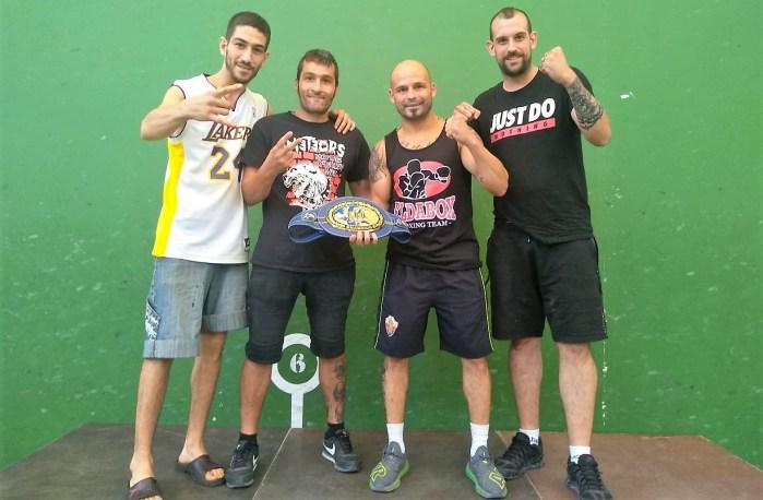 BOXEO. Masterclass en Jaca con Kiko Martínez y el Club Conradi.