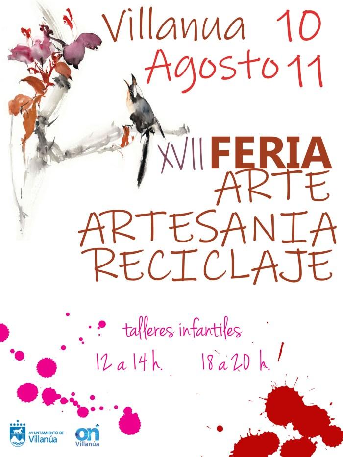 ARTE, ARTESANÍA Y RECICLAJE. Feria en Villanúa.