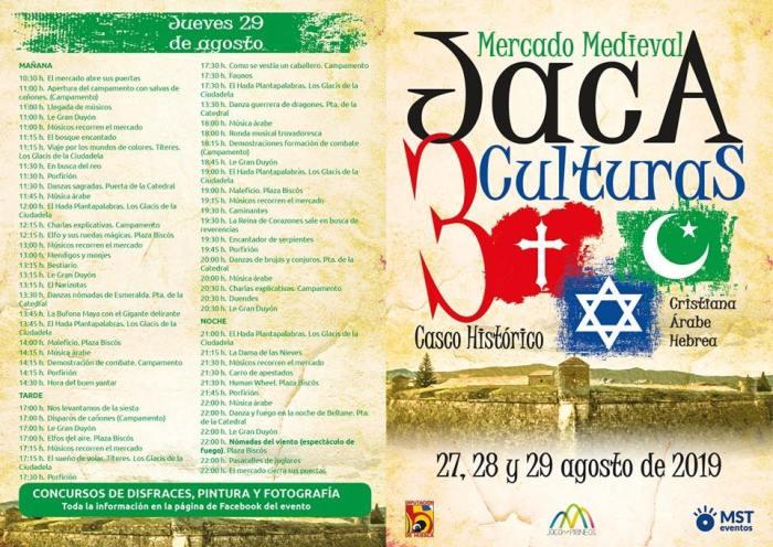 MERCADO MEDIEVAL DE JACA. Programa.