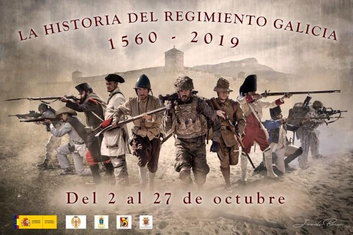 REGIMIENTO GALICIA 64. Cartel de la exposición fotográfica de Jordi Bru. (AUTOR: Jordi Bru)