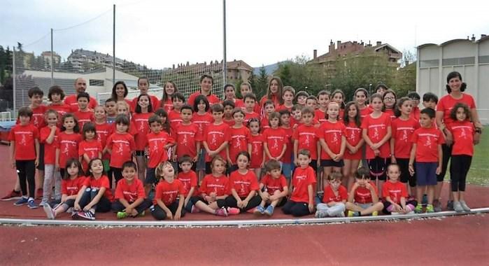 CLUB ATLETISMO JACA. La escuela comienza su actividad el próximo 2 de octubre. (FOTO: Club Atletismo Jaca)
