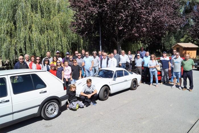JACETANIA'S CLASSIC CARS. Concentración en Santa Cilia. (FOTO: Rebeca Ruiz)