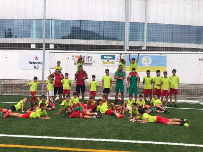 CF JACETANO. El club abre sus puertas a nuevos deportistas e invita a probar a los interesados la próxima semana.