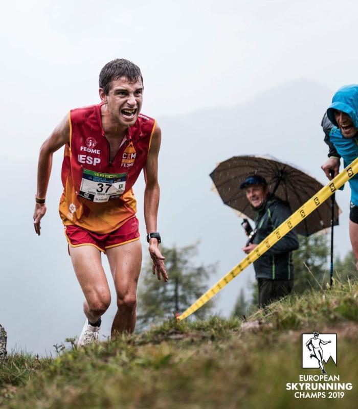 DANIEL OSANZ. El deportista de Jaca está viviendo un gran año.