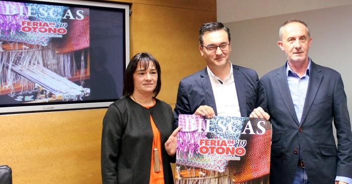 FERIA DE BIESCAS. Un momento de la presentación, este martes en la Diputación Provincial de Huesca. (FOTO: DPH)