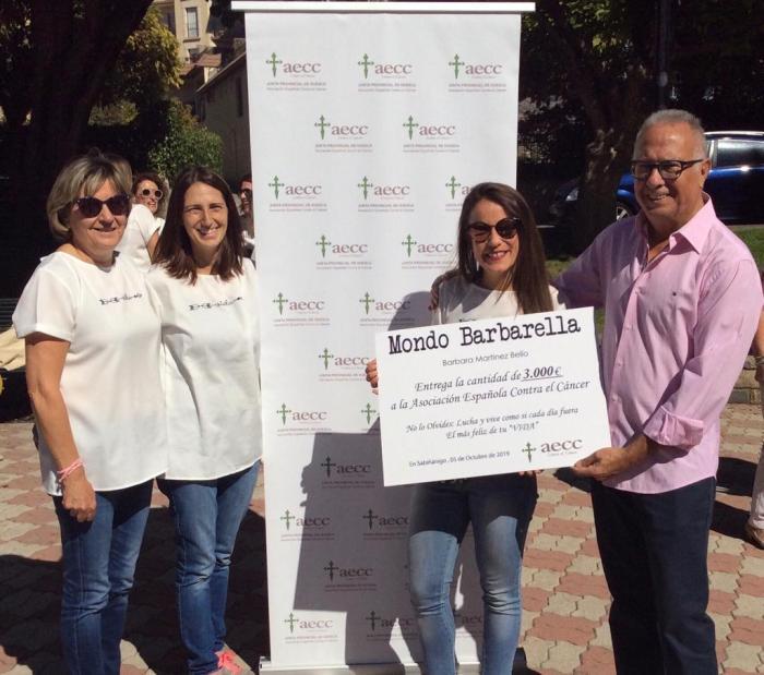 MONDO BARBARELLA. Camisetas Vida en edición limitada a beneficio de la AECC.