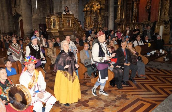 SANTA CECILIA, PATRONA DE LOS MÚSICOS. Imagen de archivo de uno de los actos más tradicionales de las celebraciones de Santa Cecilia, la misa en la Catedral. (FOTO: Rebeca Ruiz)