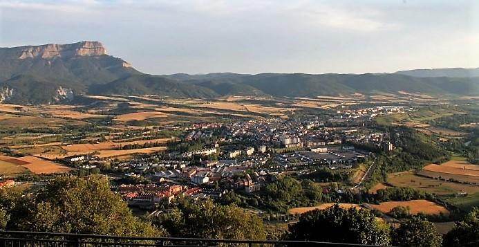 JACA. La ciudad, desde Rapitán. (FOTO: Rebeca Ruiz)