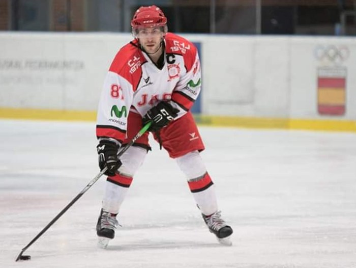 JUAN BRABO. El jugador del CHJ ha sido convocado por la Selección Española para el próximo torneo preolímpico de hockey. (FOTO: Unai Gómez)