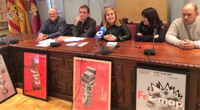 EL MAGISTERIO DE LA LOCURA. Presentación en el Ayuntamiento de Jaca.