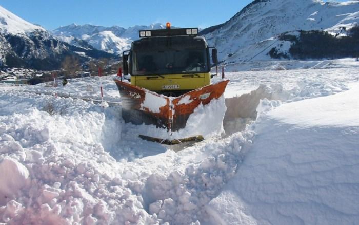 QUITANIEVES, El Gobierno de Aragón también tiene activo el dispositivo de Vialidad Invernal. (FOTO: Gobierno de Aragón)