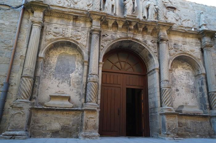 SAN BLAS Y SANTA ÁGUEDA. La iglesia del Carmen será el escenario de los actos programados. (FOTO: Rebeca Ruiz)