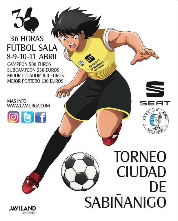 36 HORAS DE FÚTBOL SALA. Torneo Ciudad de Sabiñánigo.