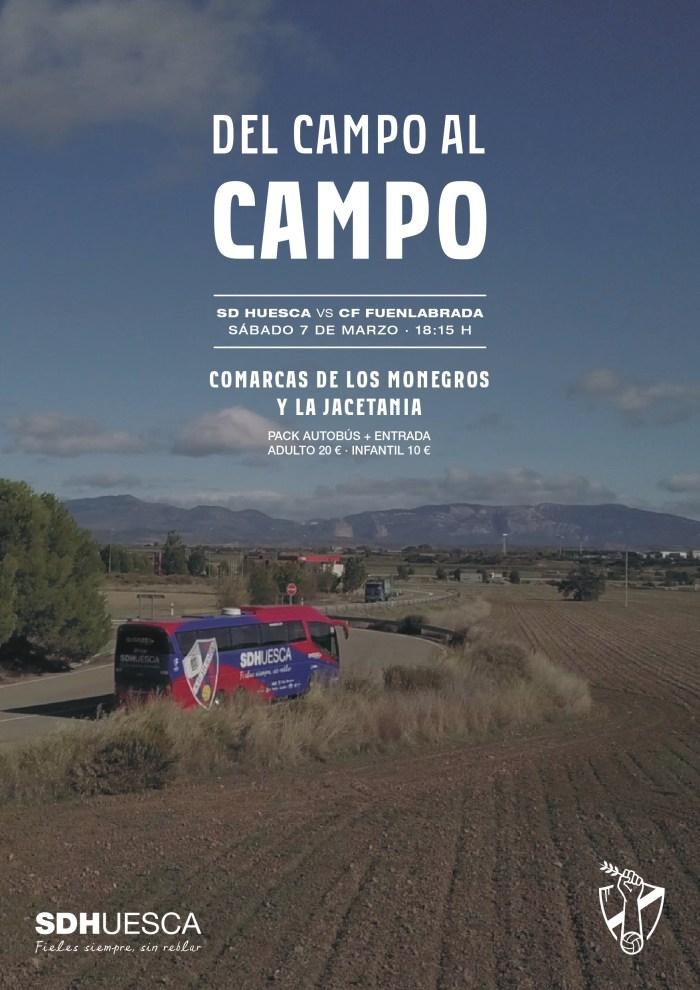 DEL CAMPO AL CAMPO. Huesca - Fuenlabrada.