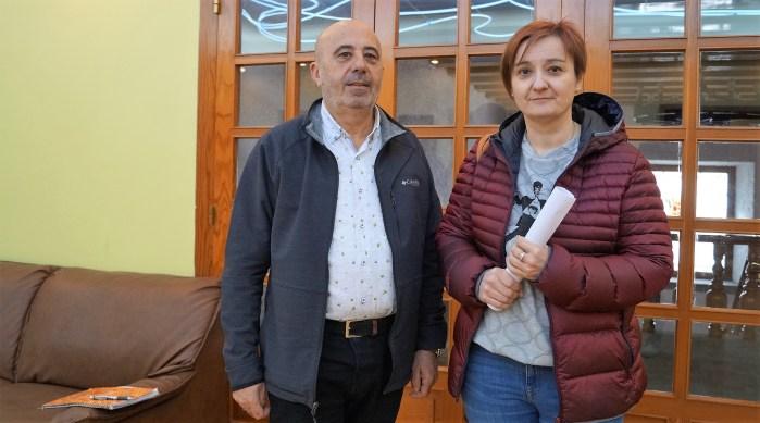 ACCIÓN SOCIAL. Carlos Reyes y Antonia Bartolomé han presentado las convocatorias sociales de 2020. (FOTO: Rebeca Ruiz)