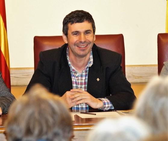 Fernando Sánchez, alcalde de Canfranc, en una imagen de archivo. (FOTO: Rebeca Ruiz)