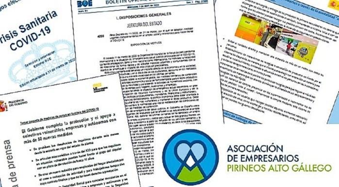 AEPAG. Los Empresarios Pirineos Alto Gállego han comenzado a planificar su estrategia para cuando pase la pandemia. (FOTO: AEPAG)