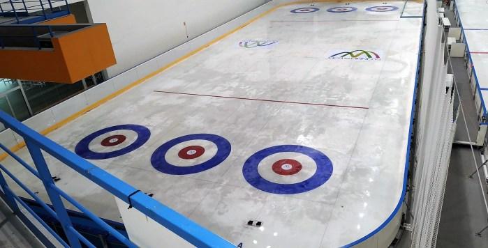 JACA. Instalaciones deportivas municipales. Pista de Curling.