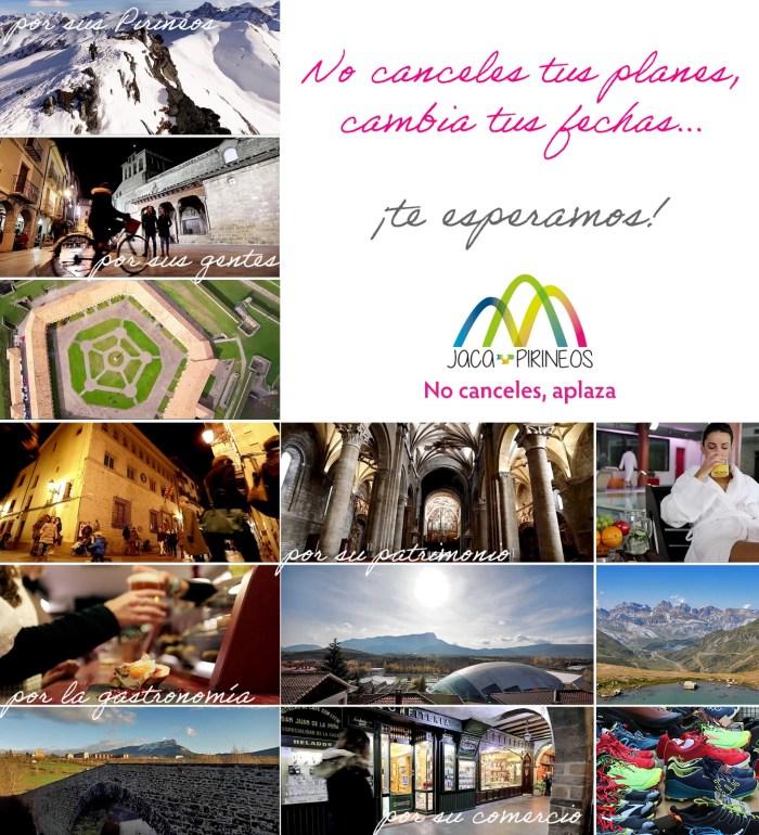 CAMPAÑA. #NoCancelesAplaza trata de apoyar al sector turístico frente al coronavirus.