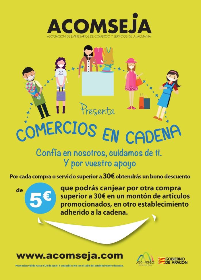 CAMPAÑA. Comercios en cadena, nueva iniciativa de Acomseja.