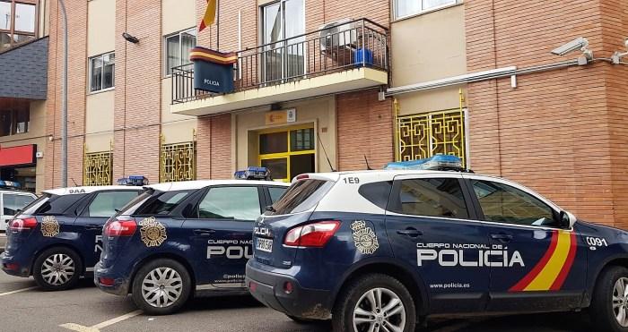 POLICÍA NACIONAL. Instalaciones de la Comisaría de Jaca. (FOTO: Rebeca Ruiz)