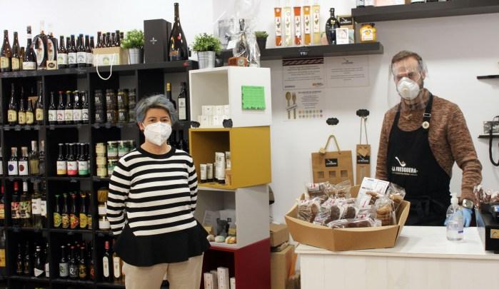 ADECUARA. Productos Repost-@rte en La Fresquera de Jaca. (FOTO: Adecuara)