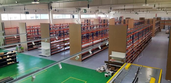 INSTALACIONES. Interior del nuevo centro de alimentación. (FOTO: Rebeca Ruiz)