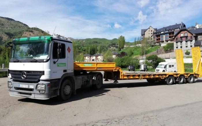 OBRAS. Arranca la construcción de la depuradra de Sallent. (FOTO: Gobienro de Aragón)