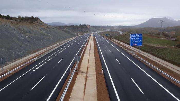 A-21. El tráfico en la N-240 quedará interrumpido durante cinco semanas por la necesidad de las obras para concluir la nueva autovía.