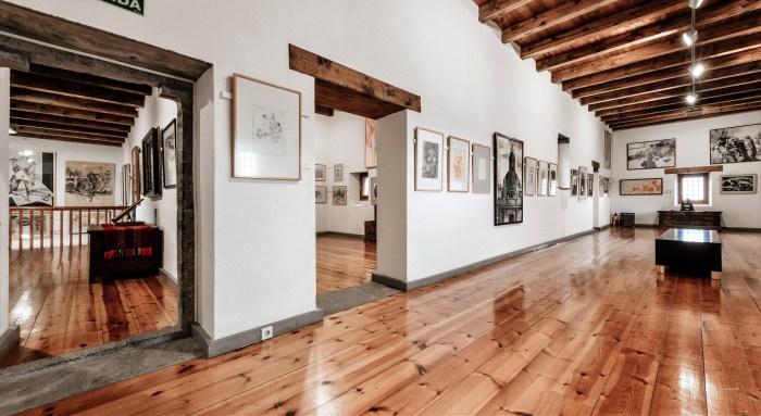 CASTILLO DE LARRÉS. Museo de Dibujo Julio Gavín. (FOTO: Museo de Dibujo Julio Gavín-Castillo de Larrés)