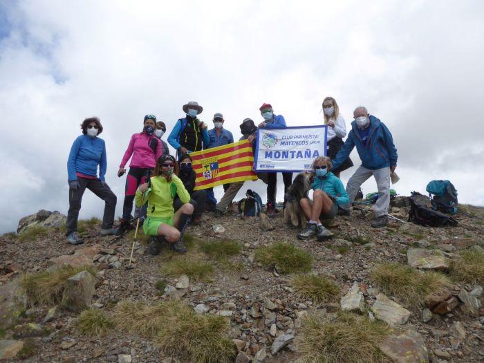 MAYENCOS. Salida al Pico Catieras. (FOTO: Chema Tapia)