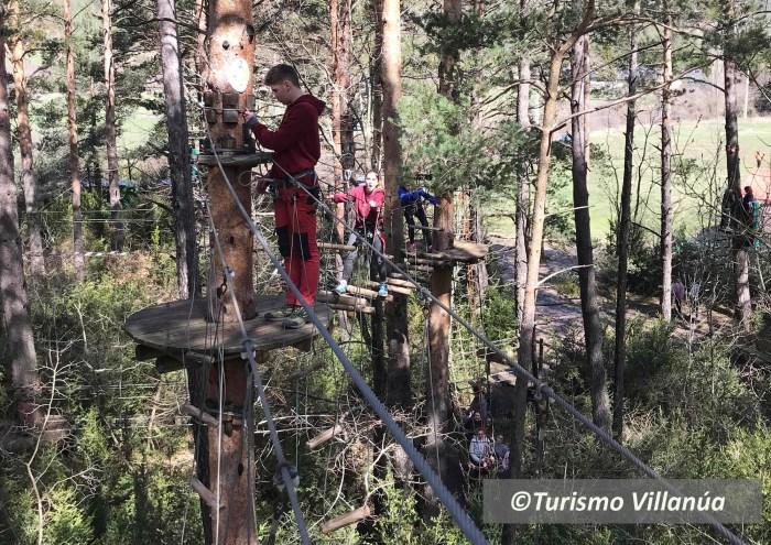 ACTIVIDADES. El ecoparque El Juncaral reabriá en unos días. (FOTO: Turismo Villanúa)