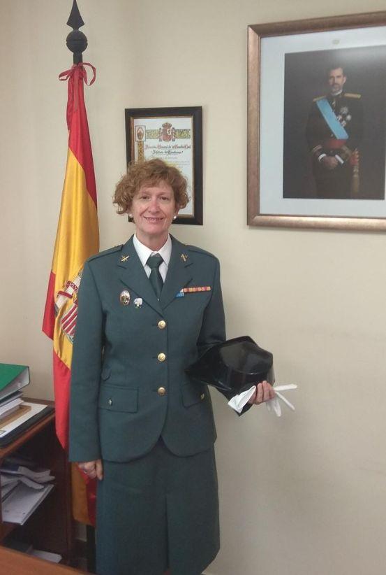 JACA. Mayte Arranz, 31 años dedicados a la Guardia Civil.