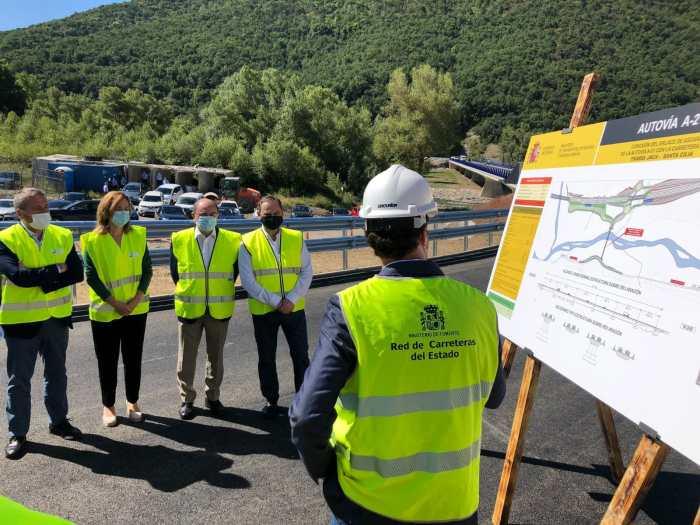 INFRAESTRUCTURA. Nuevo puente de acceso a Ascara. (FOTO: Delegación del Gobierno en Aragón)
