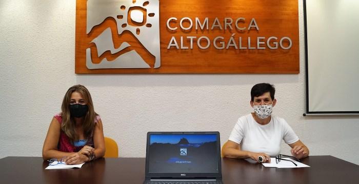 CAMPAÑA. #respiraPirineo es la nueva acción promocional del Alto Gállego. (FOTO: Rebeca Ruiz)