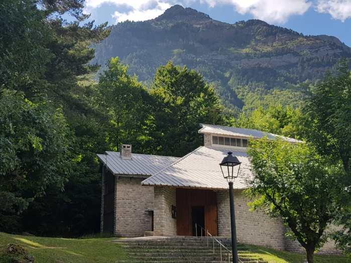 CANFRANC. Pirineos Classic arranca este miércoles con un concierto en la iglesia de Canfranc Estación. (FOTO: Rebeca Ruiz)