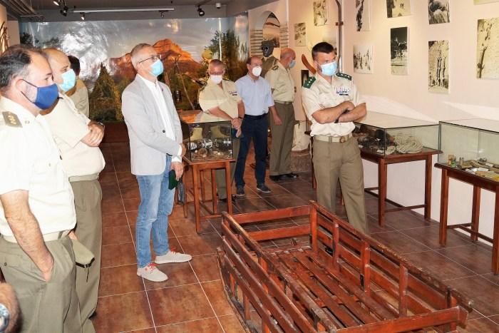 EMMOE. El Museo de la Escuela de Montaña y Operaciones Especiales muestra su historia en la Ciudadela de Jaca. (FOTO: Rebeca Ruiz)