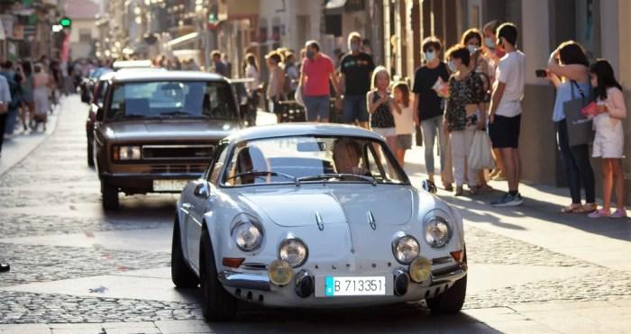 El Jacetania's Classic Cars celebrará San Cristóbal con un recorrido por las calles de Jaca. (FOTO: Rebeca Ruiz)