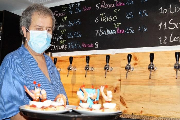 SABOR A ARAGÓN. Cervecería Borda ofrece una amplia carta basada en productos de la tierra y artesanales. (FOTO: Rebeca Ruiz)