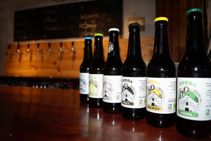 PRODUCTO ECOLÓGICO. Cerveza Borda se elabora desde 2016. (FOTO: Rebeca Ruiz)