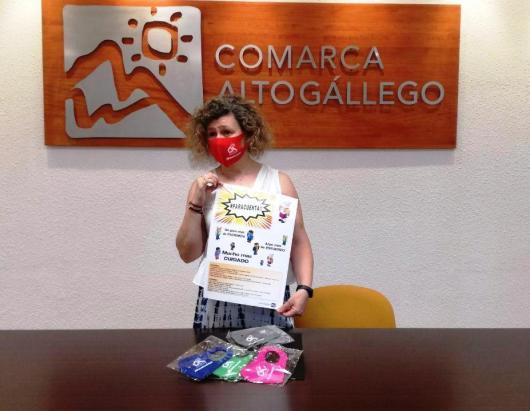 JUVENTUD. Marisa Morillo ha presentado la campaña #ParaCuenta, dirigida a los jóvenes. (FOTO: Comarca Alto Gállego)